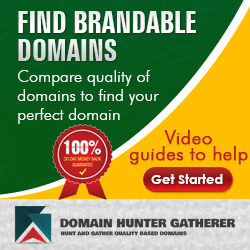 Find Brandable Domains Green Yellow 250x250